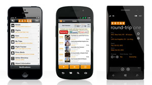 KAYAK Europe Mobile Apps