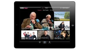 BBCiPlayer iPad app