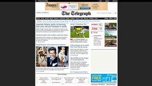 The Telegraph website