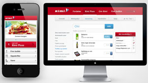 RIMI-Shopping mobile app