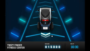 Renault - Twizy Finger Fitness Center