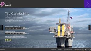 Statoil - Gas Machine