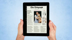 The Telegraph for iPad App